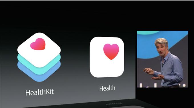Apple представила сервис Health для мониторинга здоровья