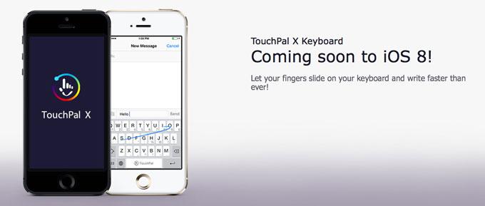 Как будет происходить установка сторонних клавиатур в iOS 8 на примере TouchPal