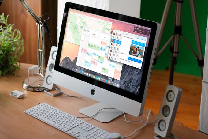 В OS X Yosemite будет доступен Пункт управления