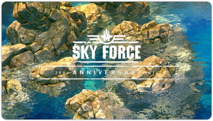 Sky Force 2014 обзавелся восьмым этапом и дополнительными уровнями в Турнире