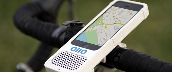 Велосипедный чехол-динамик Allo для iPhone
