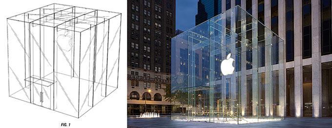 Apple успешно запатентовала Стеклянный куб