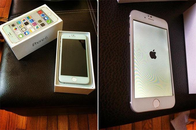 Фото официального iPhone 6 в розничной упаковке (на самом деле нет)