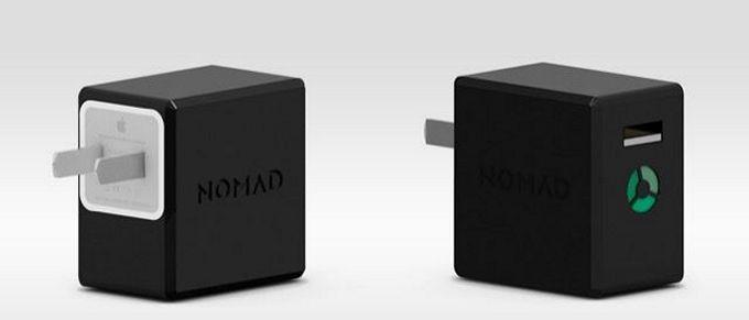 NomadPlus. Чехол-аккумулятор для зарядного устройства от iPhone и iPad