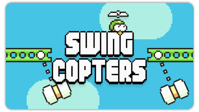 Swing Copters. Духовный наследник Flappy Bird