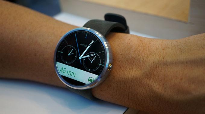 Motorola представила смарт-часы Moto 360 за $250