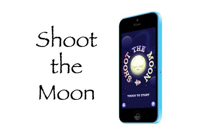 Shoot the Moon. Увлекательный аркадный тир