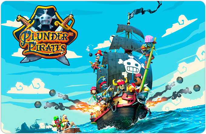 Plunder Pirates. Пиратский клон Clash of Clans