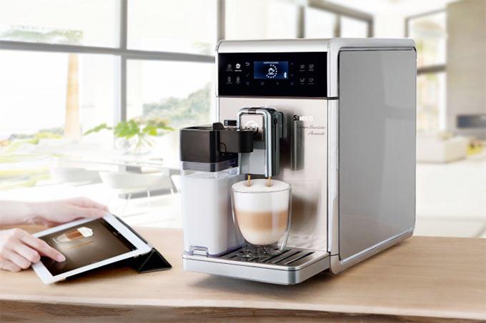 Умная кофеварка Saeco, которая дружит с iPad