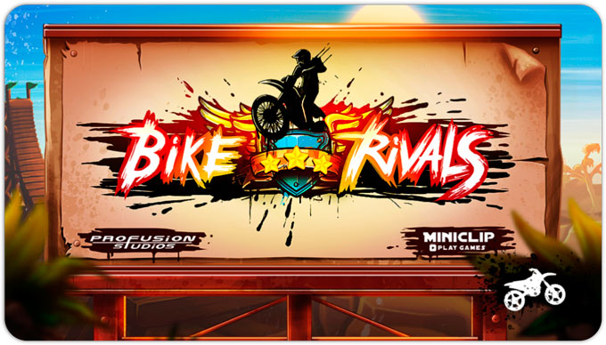 Bike Rivals. Странный мототриал