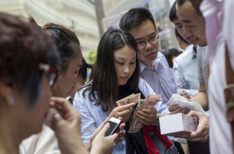 Китай встретил iPhone 6