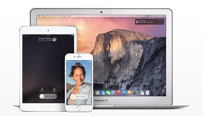 OS X Yosemite GM и iOS 8.1 Beta 1 поддерживают функцию «Непрерывность» для текстовых сообщений