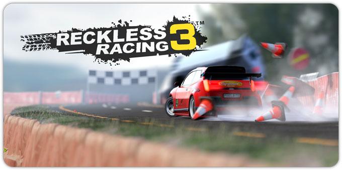 Reckless Racing 3. Поворот не туда
