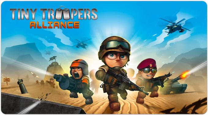 Tiny Troopers: Alliance. Крошечные вояки на полях мультиплеерной войны