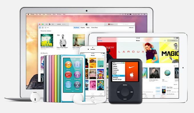 Использование одного iTunes для нескольких устройств. Инструкция.