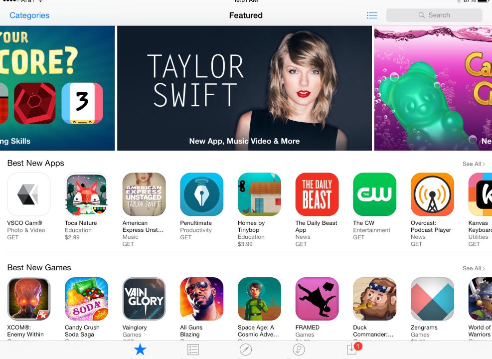 Из App Store исчезла кнопка «Бесплатно»