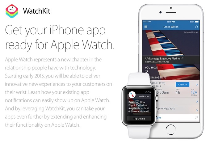 Вышли iOS 8.2 beta 1 и WatchKit SDK