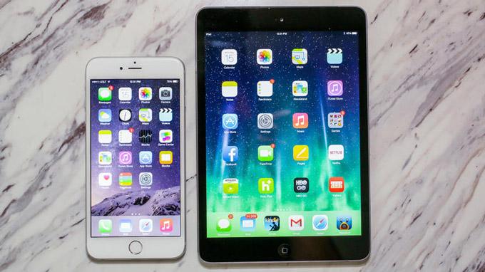 iPhone 6 и iPhone 6 Plus заставляют пользователей отказываться от iPad