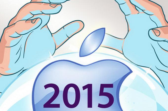 10 занимательных прогнозов о новинках Apple в 2015 году