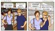 Смартфоны против бумажных блокнотов. Комикс от  Joy Of Tech