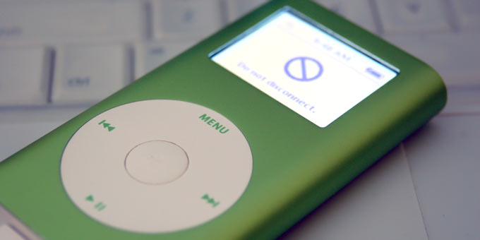 ipodgreen