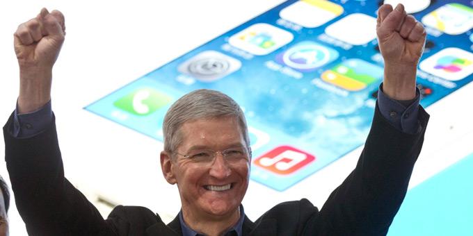 Сколько заработали руководители Apple в 2014 году