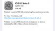 Вышла iOS 8.2 beta 5