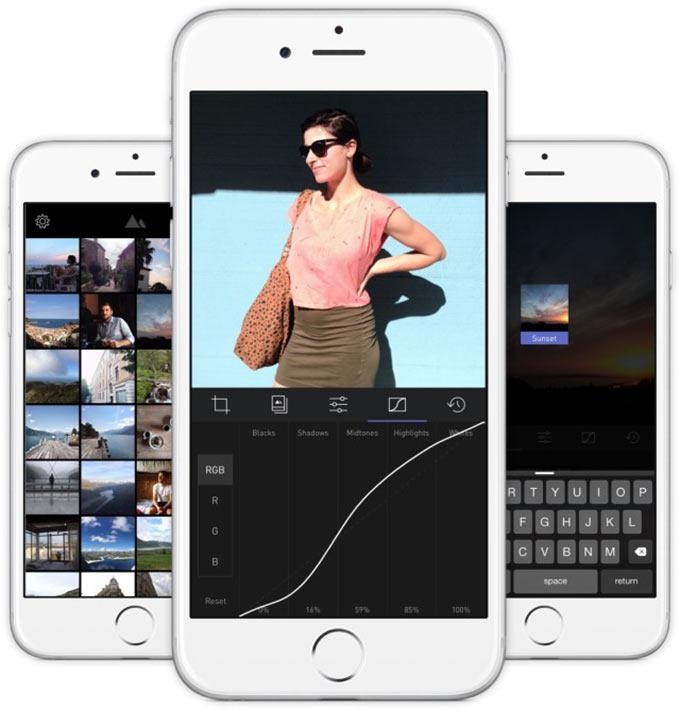 В App Store появилась бесплатная альтернатива Adobe Lightroom