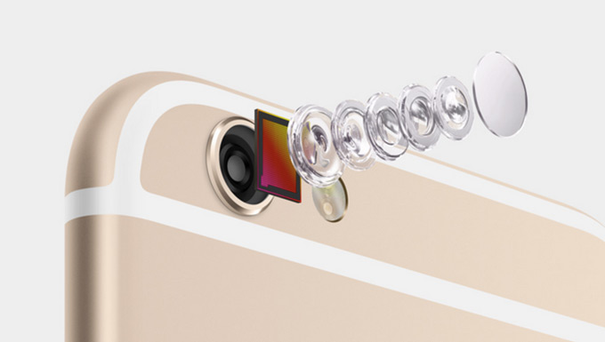 В iPhone 6s сохранится 8-мегапиксельный модуль камеры