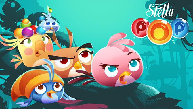Rovio выпустила Angry Birds Stella POP! Больше странных птиц, еще больше