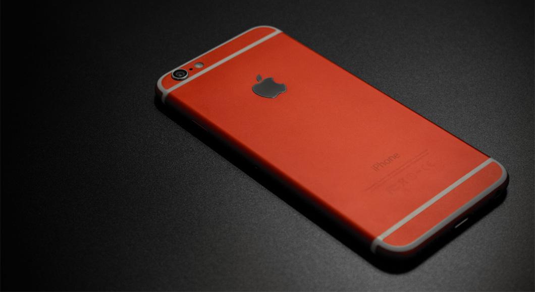 Замена обычного корпуса iPhone 6 на цветной