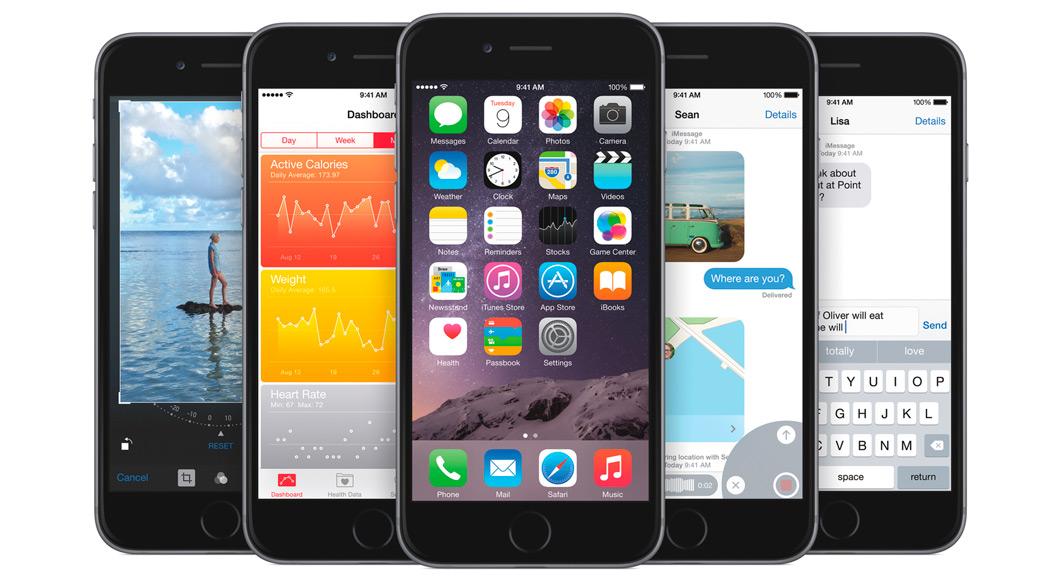 iOS 8 установлена на 77% мобильных устройств Apple