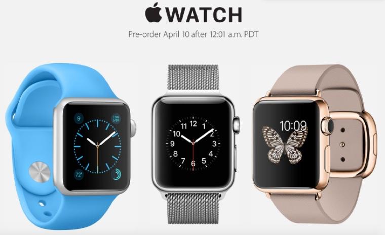 APple Watch_Gold_preorder