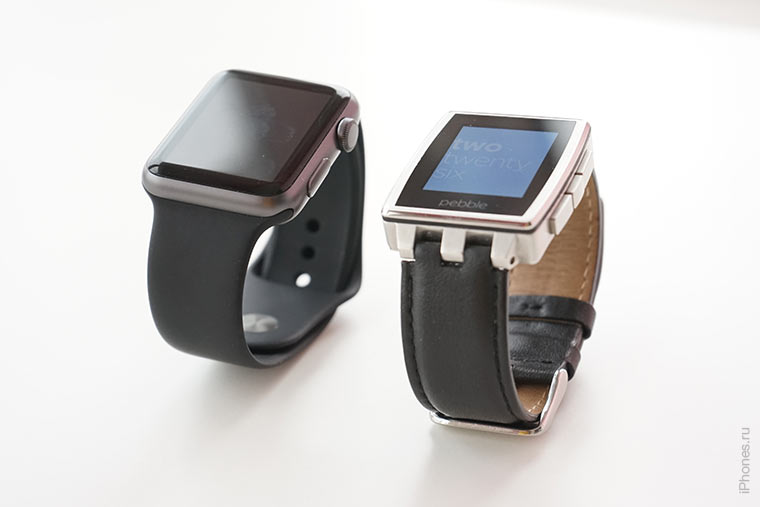 apple-watch-and-pebble-steel