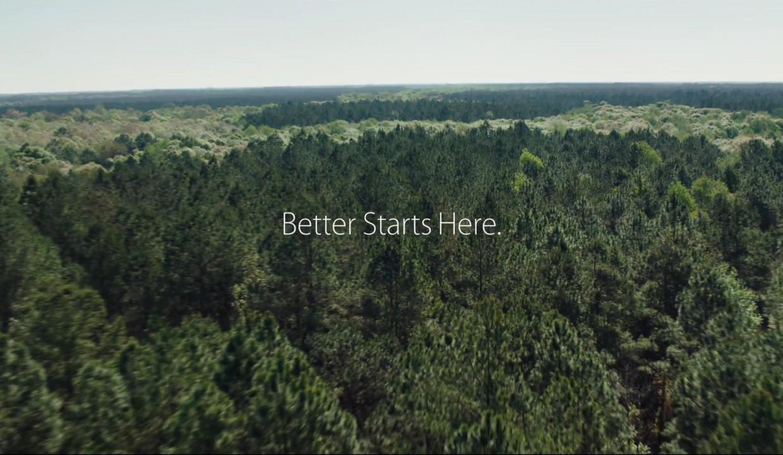 Apple продолжает улучшать планету