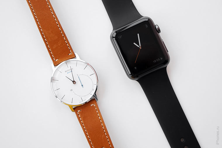 withings activite vs apple watch