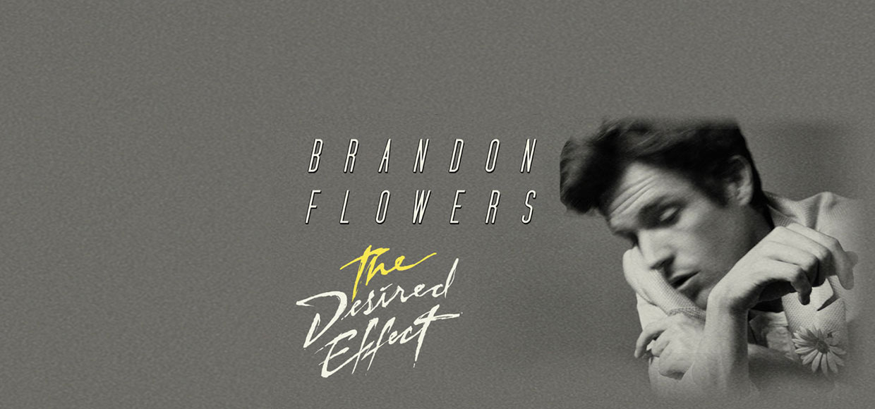 Brandon Flowers и новый альбом «The Desired Effect»