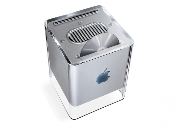 The PowerMac G4 Cube