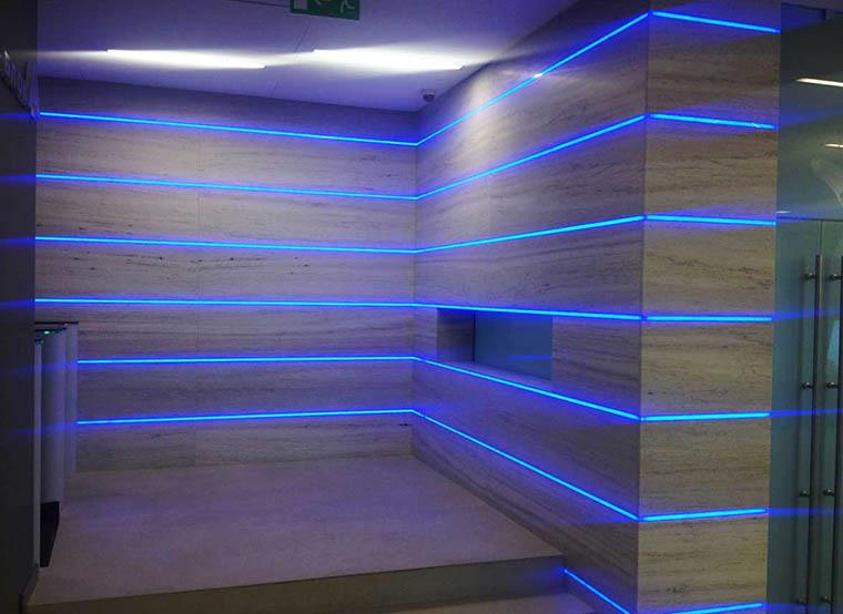 Светодиодная подсветка стен своими руками 443