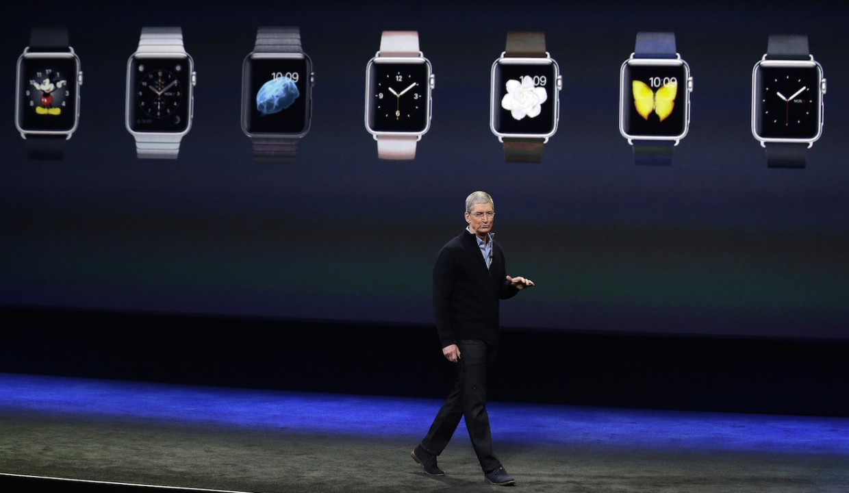Apple Watch заняли 75% рынка