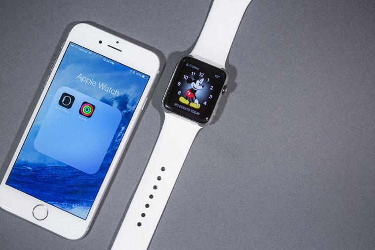 Звук на айфоне с appl watch