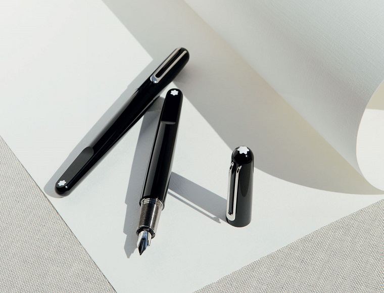 Montblanc pen by Marc Newson