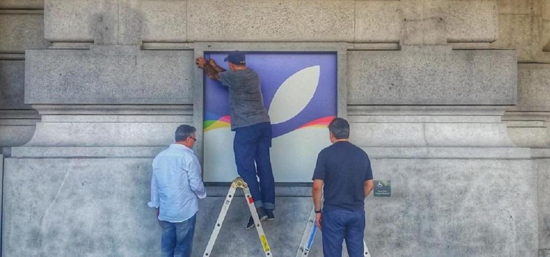 Apple готовит Bill Graham Civic Auditorium к презентации