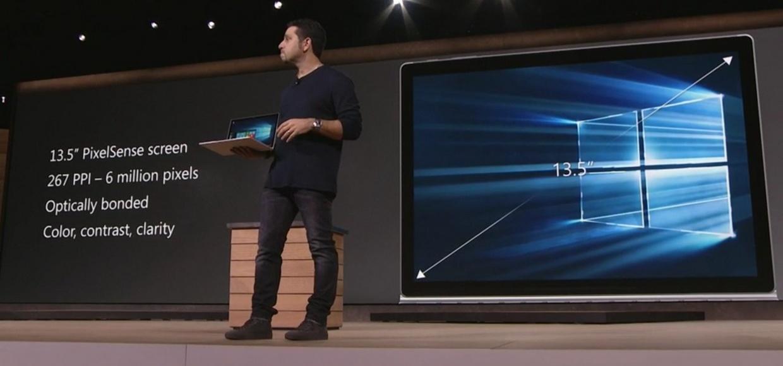 Первая партия Surface Book разошлась за пять дней