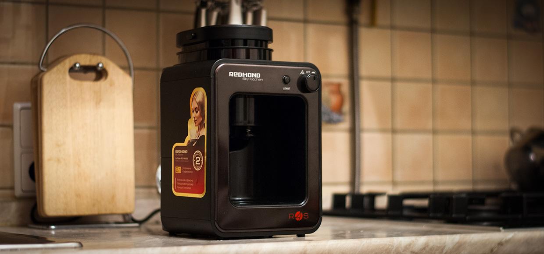 Наконец-то есть кофеварка для iPhone – Redmond SkyCoffee