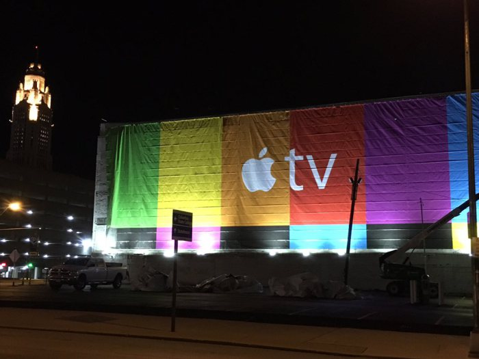 Apple TV Billboard 2