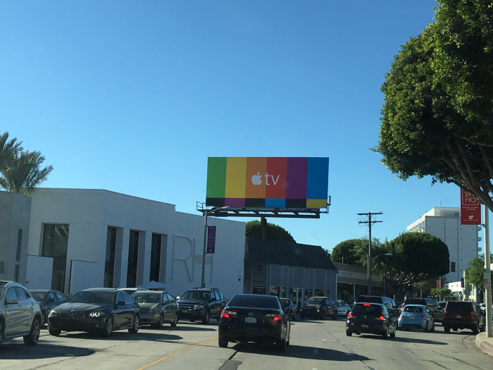 Apple TV Billboard 3