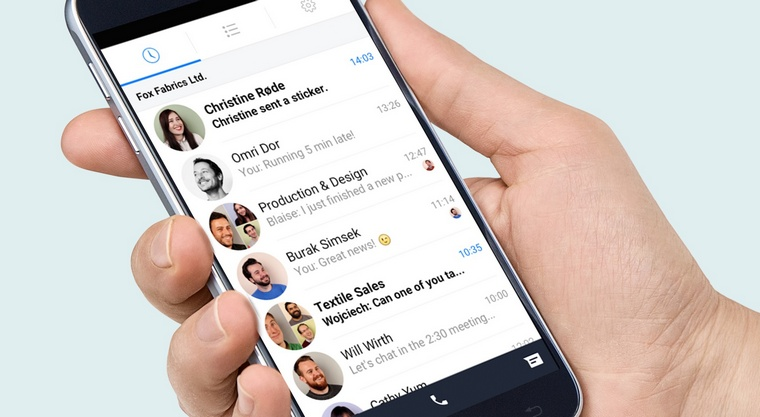 Facebook-Work-Chat-Androd
