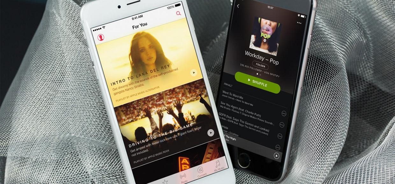 Spotify обостряет конкуренцию с Apple Music