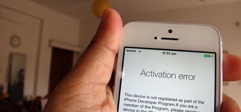 У Apple упали серверы активации iPhone